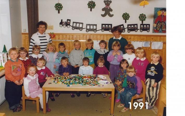 Kindergarten 1991