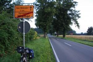 Ortsschild-Westervesede-Wismar (2)