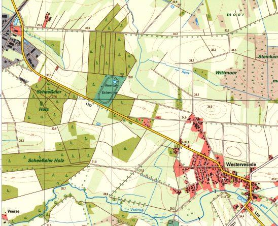 Karte Eichenring