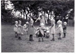 Erntekindergarten 1942 (Foto: J. Bruhns)