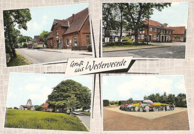 Tobeck / Gaststätte Behrens (Hanschen Harm) / die Mühle / das Ehrenmal