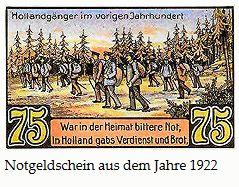 Notgeld - Hollandgänger