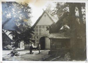 Historisches Bild der Hofstelle